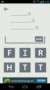 4 5 6 FREE Word Game