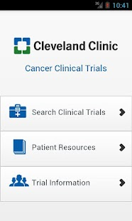 Cleveland Clinic Cancer Trials - screenshot thumbnail
