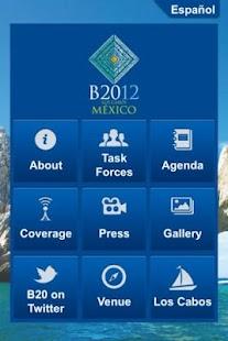 B20 México - screenshot thumbnail