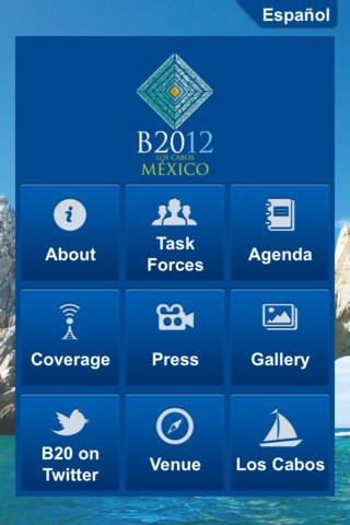 B20 México - screenshot