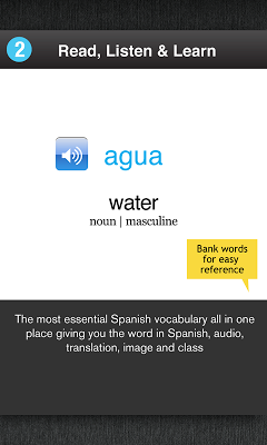 Learn Spanish Free WordPower - screenshot