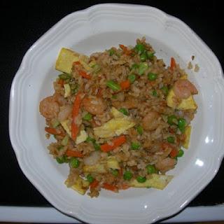 PF Chang's Shrimp Fried Rice.