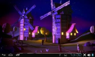 Screenshot of Paper Windmills 3D Pro lwp