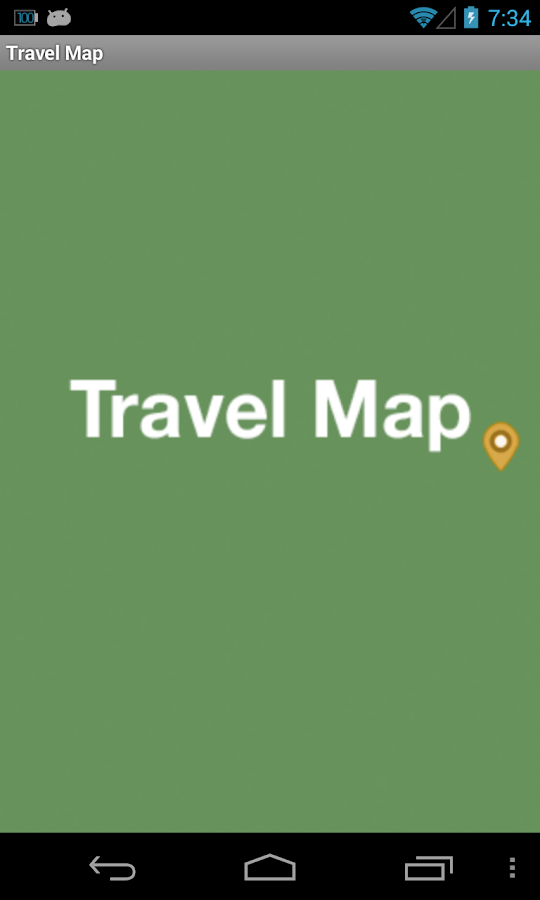 Travel Map- screenshot