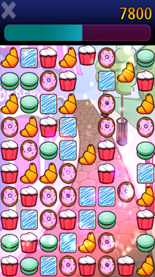 Cookie Fall - screenshot