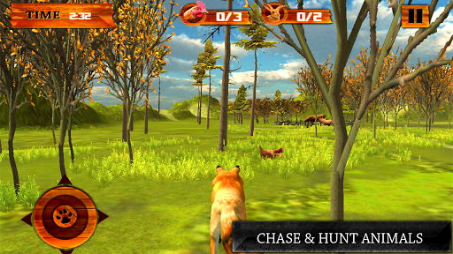 Wild Fox Simulator Games 3D game (apk) free download for Android/PC