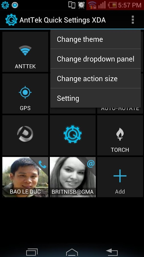 AntTek Quick Settings Pro- screenshot
