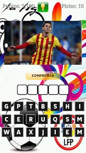 Futbol Quiz - Liga BBVA 2015