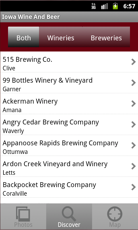 Iowa Wine & Beer - screenshot