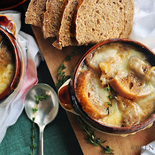 French Onion Soup & A Cheesy Holiday Menu