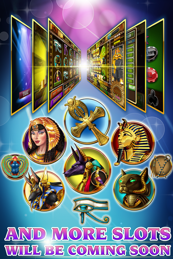 Slots - Pharaoh's Treasure- screenshot