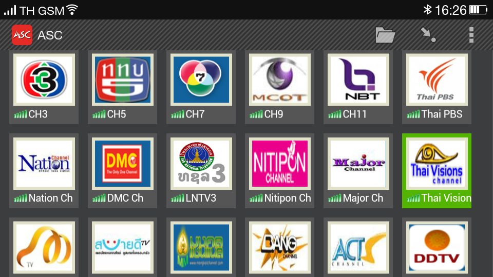 asc free thai live tv android apps on play
