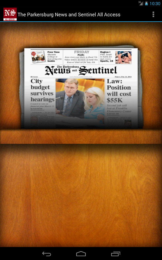 News and Sentinel All Access- screenshot