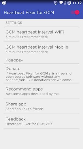 Heartbeat Fixer for GCM