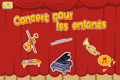 Concert pour enfant