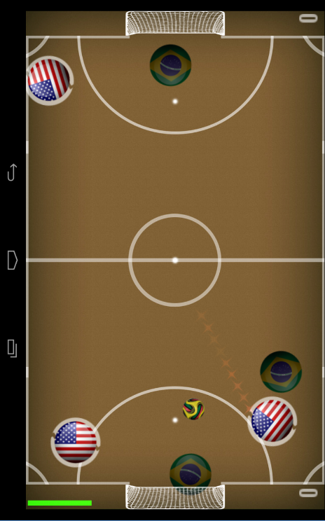 Air Soccer Fever - screenshot