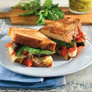 Grilled Veggie Sandwiches.