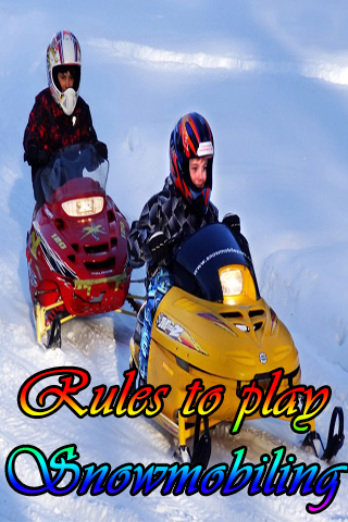 Rules to play Snowmobiling