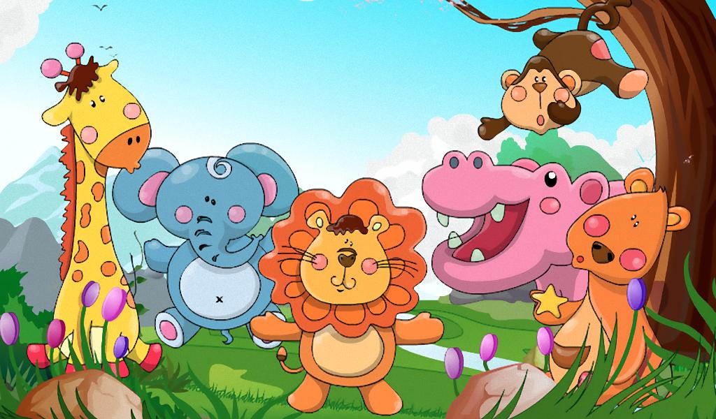 Kebun Binatang Mewarnai