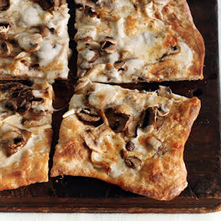 Truffled Taleggio and Mushroom Pizza.