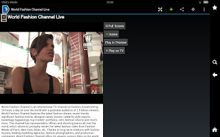 Screenshot of Viaway: TV Films Video Radio