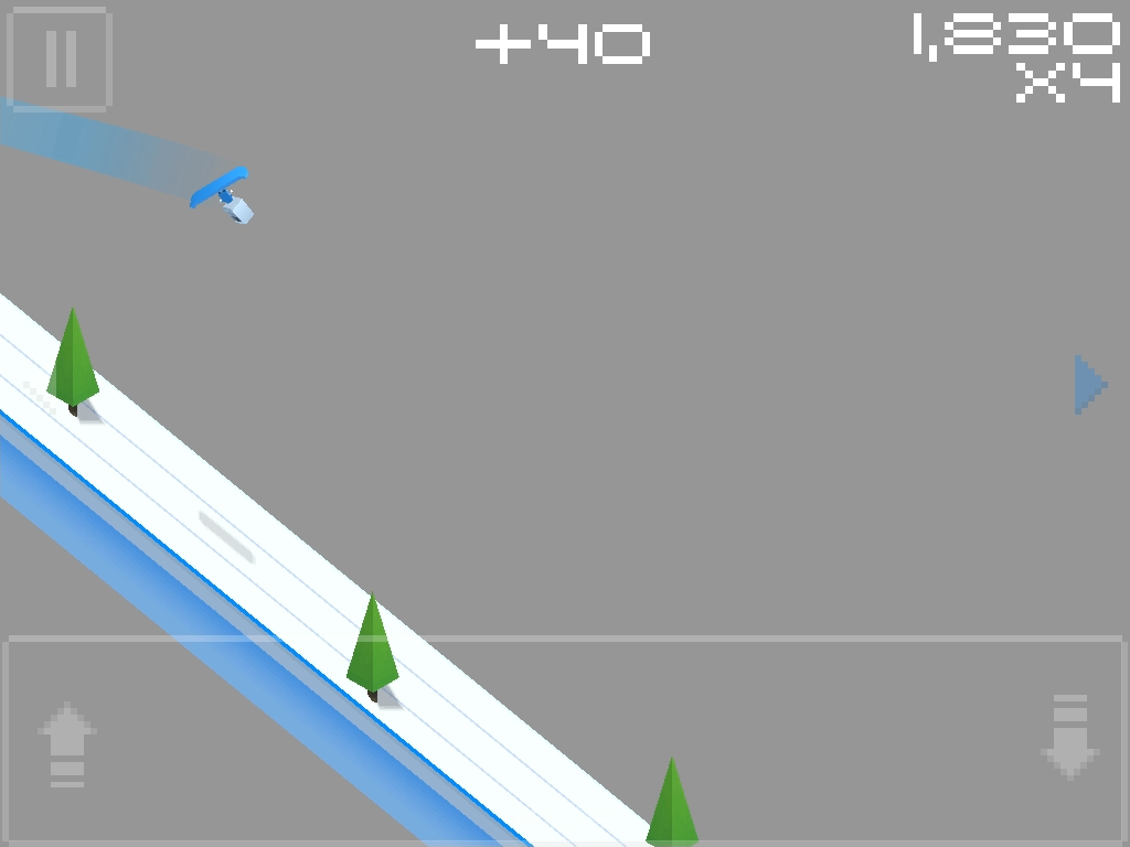 Cubed Snowboarding- screenshot