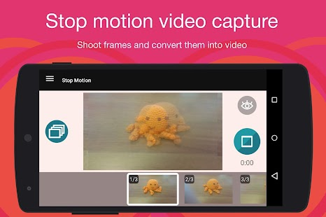Stop Motion Cartoon Maker: miniatura de captura de pantalla