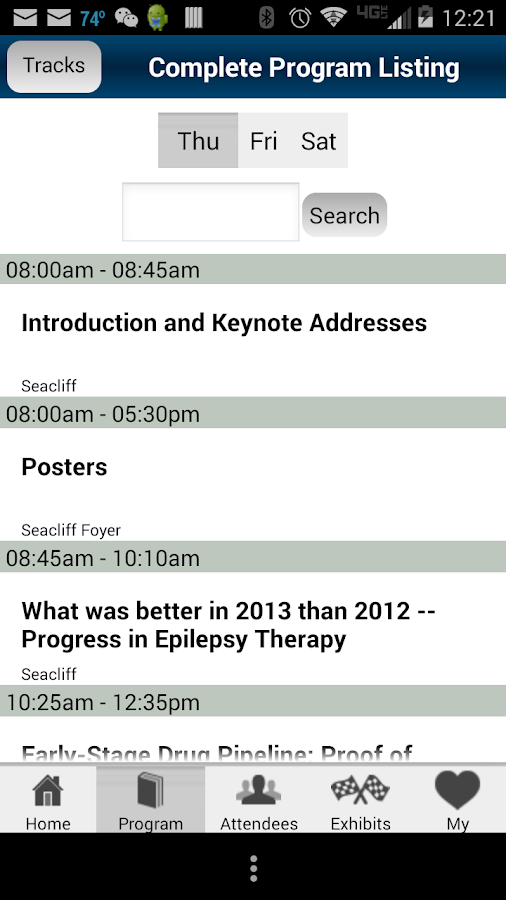 Epilepsy FDN - screenshot