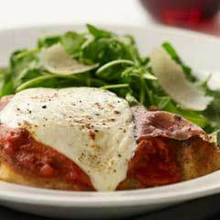 Chicken Parmesan With Caponata.