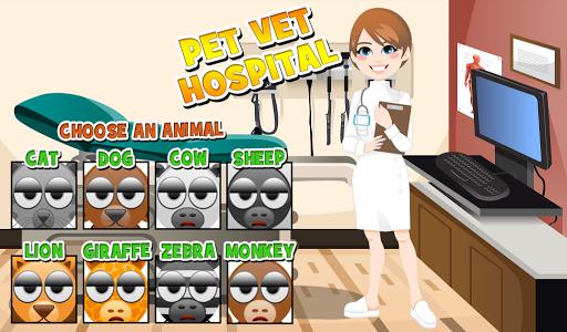 Pet Vet Hospital - Doctor Game