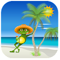 Summer relax icon