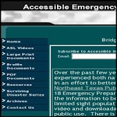 Accessible Emergency Info