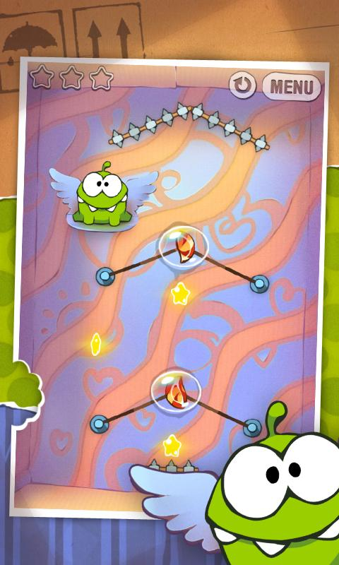 Cut the Rope HD - screenshot