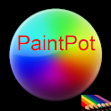 Ali's PaintPot logo