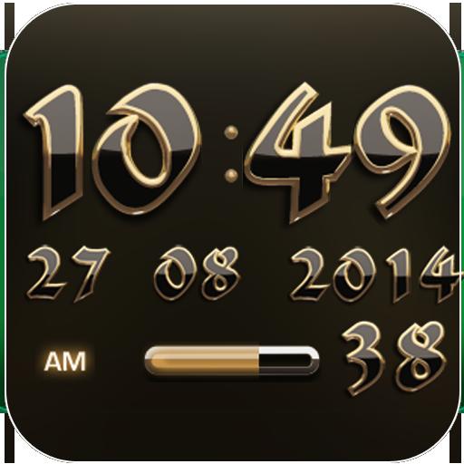 Digi Clock Widget Ophir