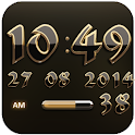 Digi Clock Widget Ophir icon