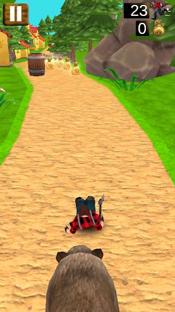 Danger Runner 3D Bear Dash Run 1.5 screenshot 1646785