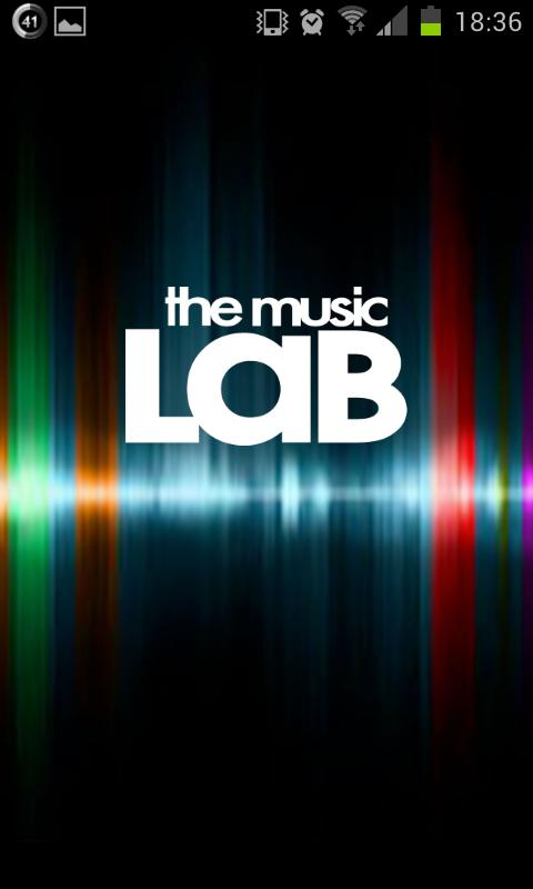 MusicLab- screenshot