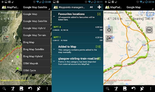Map Pad GPS Surveys & Measure screenshot 17