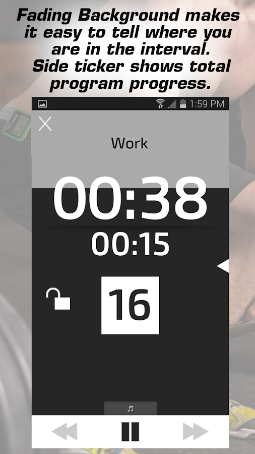Gymboss Interval Timer- screenshot