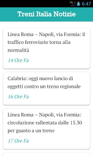 Treni Italia Notizie