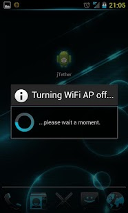 JB WiFi Tether - screenshot thumbnail