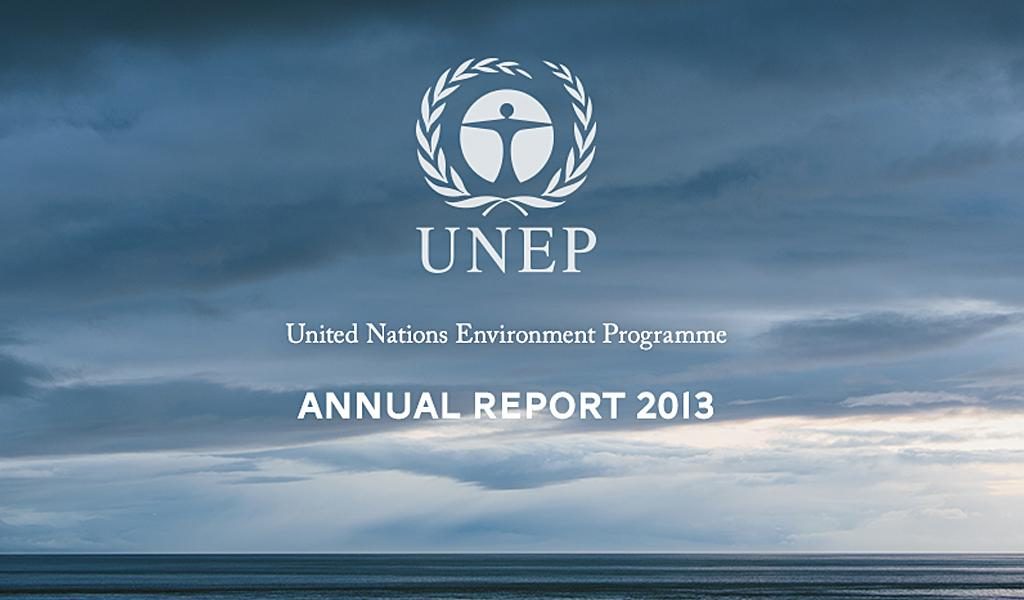 UNEP Annual Report 2013 - screenshot