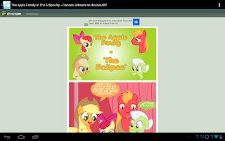 Screenshot of Ponu News for My Little Pony