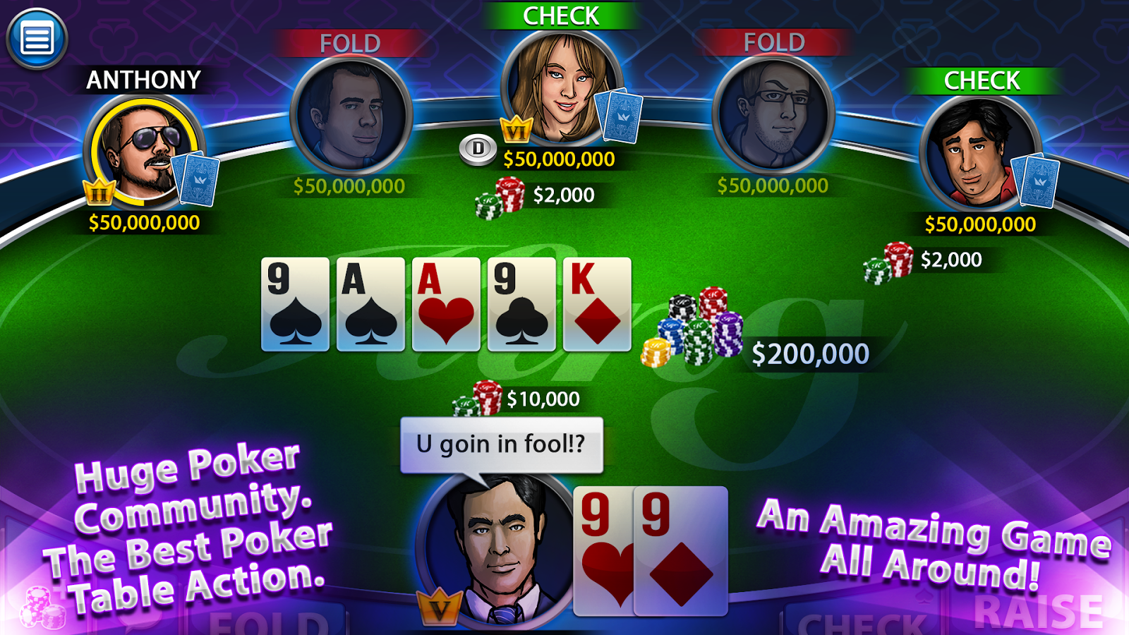 Texas Hold'em King - screenshot