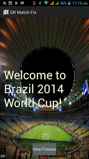 GRMatchFix - Brazil 2014