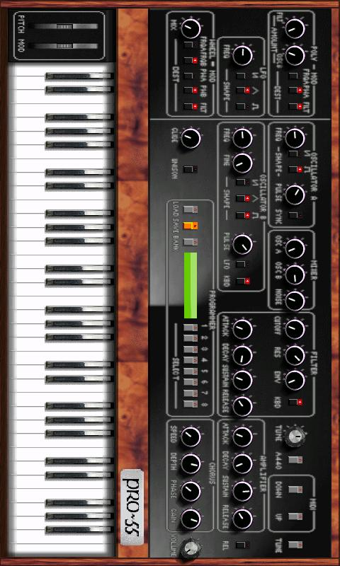 Augur-52 Synth - screenshot
