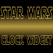 Star Wars Clock Widget