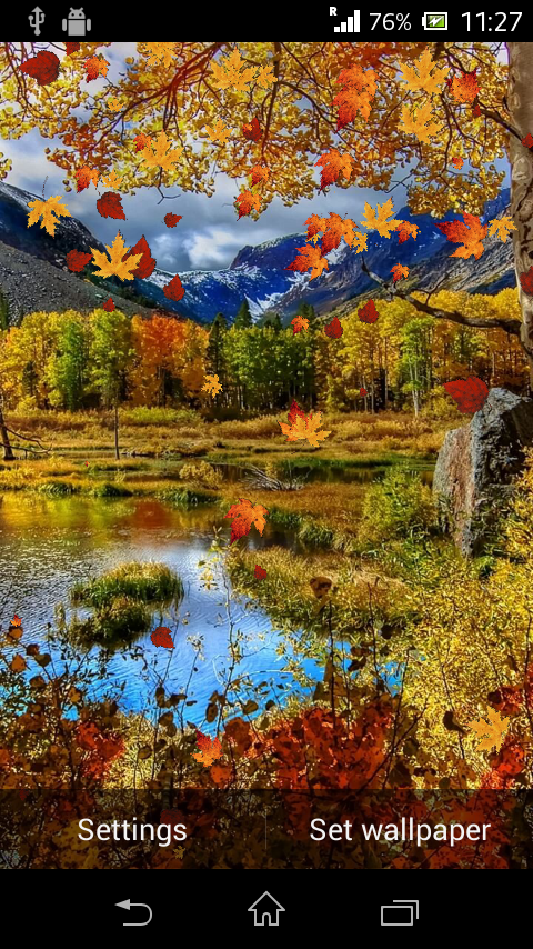 autumn live wallpaper android apps on google play