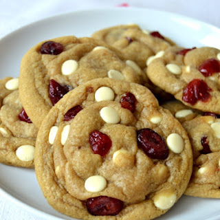 The Best White Chocolate & Cranberry Cookies